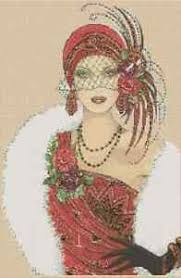Art Deco Cross Stitch Charts Details About Art Deco Lady In Red Dress Counted Cross Stitch Chart No 1 39