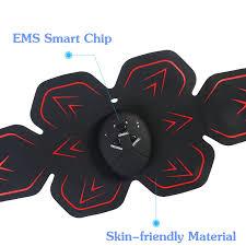 Smart Electric <b>Wireless Muscle Stimulator Ems</b> Trainer Waist and ...