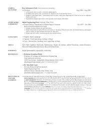 Sample Resume With Github GitHub Zachscrivenasimpleresumecv Template For A Simple Resume 7