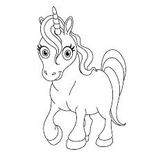 Moeilijke Kleurplaten Unicorn Eenhoorns Kleurplaten
