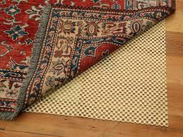 safest rug pads for hardwood floors