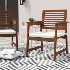 arianna patio chair with cushions set of 2