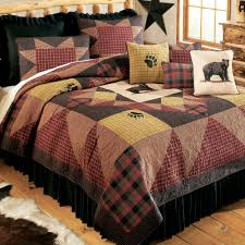 Plaid Bedroom Rustic Lodge Bedding Touch Of Class