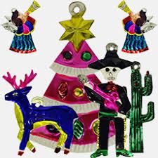 Mexikanischer Christbaumschmuck Aus Blech Superskull