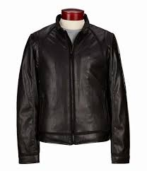 mens guess mixed punch faux leather biker jacket usjacket678on
