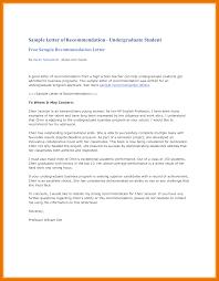 Attachment Letter Attachment Recommendation Letter Sample Sample