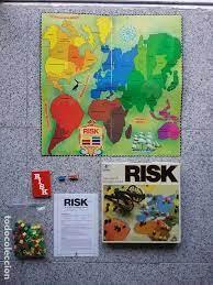 Mi primer juego de riesgo: Juego De Mesa Risk Borras Anos 80 Completo Y Vendido En Venta Directa 64494899