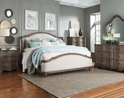White and Brown Wood Trim Bedroom Set | American Freight