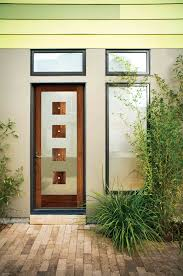 lovely jeld wen exterior doors with black frame matched on ivory wall with  glass window for