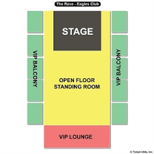 The Rave Eagles Club Seating Chart The Rave Eagles Club