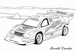 Dessin Voiture Tuning Coloriage Download