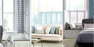 blinds for living room bay windows bay window solutions house beautiful  collection at atmosphere shutters range