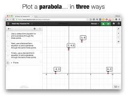 match my parabola 10