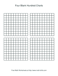 Four Square Chart Template 4 Square Template