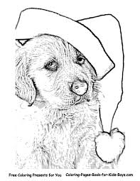 Coloring Pages Christmas Coloring Pictures Day Free Picture Pages