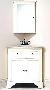 decoration inch corner bathroom sink vanity available in white grey and mint glacier finishes ships