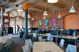office workspaces. Forget The Corner Office: Cleveland\u0027s Hottest Workspaces Are Open, Collaborative, Connected #CLE Office