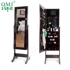 luxury wooden furniture storage. new luxury large wooden standing jewelry armoire mirrored bedroom vanity furniture storage for makeup organizer cabinetin living room cabinets from i