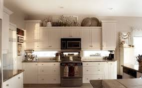 decor above kitchen cabinets. Above Kitchen Cabinet Decor Classic White Wooden Wall Modern Decor  Above Kitchen Cabinets Unique Interior This Can Also Be Constructed In The F