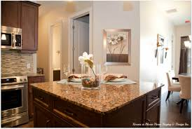 Kitchen Staging The Westmount Grand Rooms In Bloom Showcases The Gorgeous Model