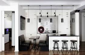 Image Source : Housetohome · Bold Use Of Black In The Kitchen