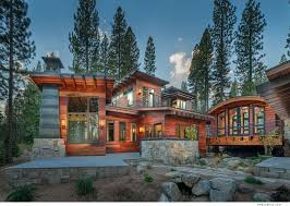 Cabin With Tigerwood Siding In Truckee Ca Built By Nsm
