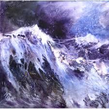 Le chant sacré de la mer - Anne Huet-Baron - Watercolour