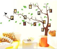 tree picture frame creative family tree frame photo wall stickers forever love memory wall decals vinyl