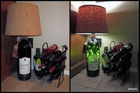 centine bottle lamp