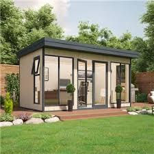 timber garden office. evolution insulated composite garden office timber