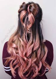 rose gold hair colors ideas how to get rose gold hair