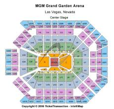 Mgm Grand Theater Las Vegas Seating Chart Mgm Grand Garden Arena Tickets And Mgm Grand Garden Arena