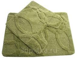 <b>Fixsen FX</b>-<b>0128A</b>-<b>2</b> Green зеленый <b>коврик</b> для ванной купить в ...