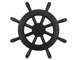 pirate decorative ship wheel 12