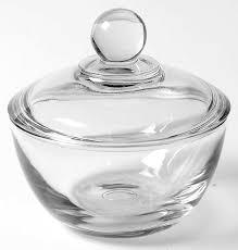 anchor hocking presence clear sugar bowl lid