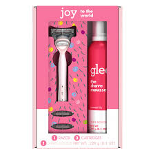 Joy Pink Women's <b>Holiday Gift Set</b> including 1 Handle, 3 Refills and ...