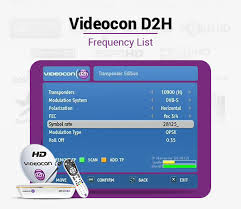 Videocon D2h Monthly Recharge Chart Videocon D2h Frequency 2019 List Of Videocon D2h Channel