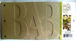Album Word Baby Word Album By Bo Bunny Little Miss Celebration