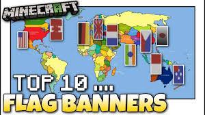 Minecraft Banner Flag Designs Minecraft Top 10 Flag Banner Designs Tutorial Easy
