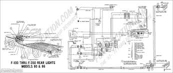 ford truck technical drawings and schematics section h wiring 1969 f 100 thru f 350 rear lights models 80 86
