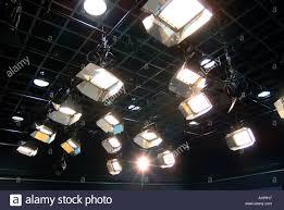 Tv Studio Lighting Design Lighting At Doshisha University Tv Studio Kodo Japan Stock