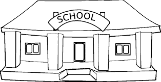 Small Picture School Building 3 Coloring Page Wecoloringpage Coloring Home
