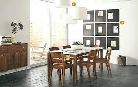round room and board extension dining table room