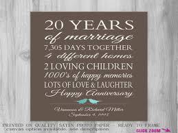 20 year wedding anniversary gifts wedding ideas 20th wedding anniversary gift for husband