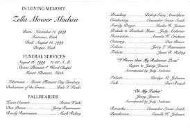 Funeral Service Templates Word Classy Free Funeral Program Templates Download Template Online Thewokco