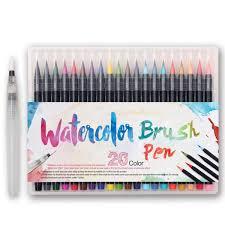 <b>20 Colors Watercolor</b> Drawing <b>Painting</b> Pen Brush <b>Artist</b> Sketch ...