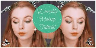 today i have my everyday makeup look for you