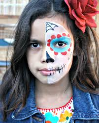 watch this you video and learn how to paint the perfect sugar skull makeup on your