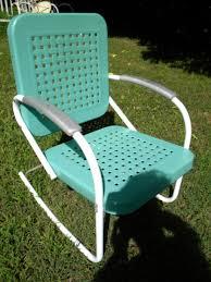 Fresh Painted Vintage Metal Lawn Chairs Thedigitalhandshake Furniture