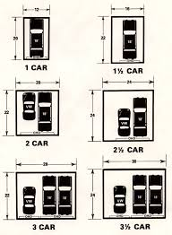 Garage Dimensions  Google Search  Andrew Garage  Pinterest Size Of A Two Car Garage